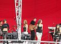 The Saturdays at Monkwearmouth, Sunderland 9.jpg