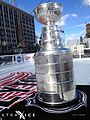The Stanley Cup on our Xtraice rink at the Hockeytown Winter Festival (11817294254).jpg