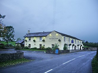 Great Mitton - Image: The Three Fishes, Mitton geograph.org.uk 585397