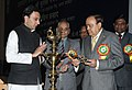 The Union Minister of Petroleum and Natural Gas, Shri Murli Deora lighting the lamp to inaugurate the Oil & Gas Conservation Fortnight 2010, in New Delhi on January 19, 2010.jpg