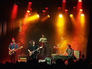 The War on Drugs (band) - The War on Drugs performing at the Kaufleuten Club in Zurich, 2014