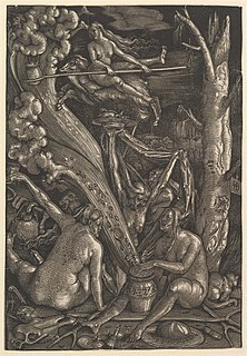 <i>The Witches</i> (Hans Baldung)