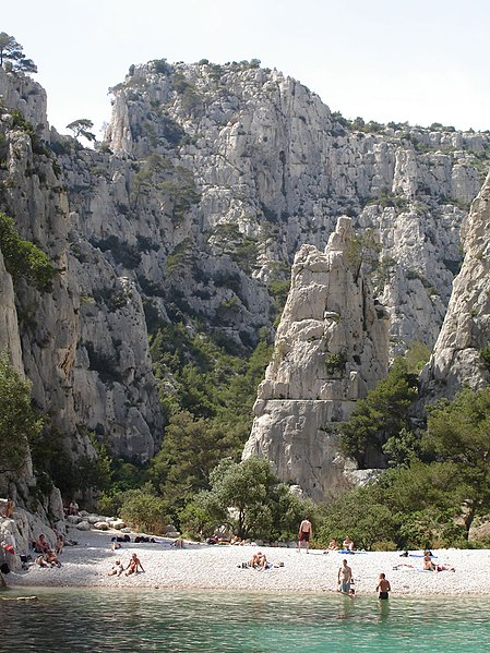 File:The calanques near Cassis.jpg