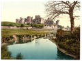 The castle, Caerphilly, Wales-LCCN2001703448.tif