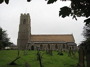 Coltishall - Image: The church of St John the Baptist geograph.org.uk 873336