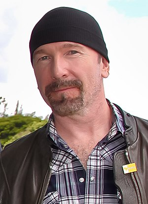 Love Is Blindness - The Edge (pictured in 2011) separated from his wife during the recording of Achtung Baby. He channeled his painful emotions from that time into his guitar playing on the song.