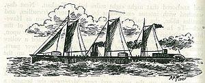 Pioneer (paddle-steamer) - Image: The river gunboat pioneer