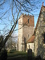 The tower of All Saints, Catherington - geograph.org.uk - 1098131.jpg