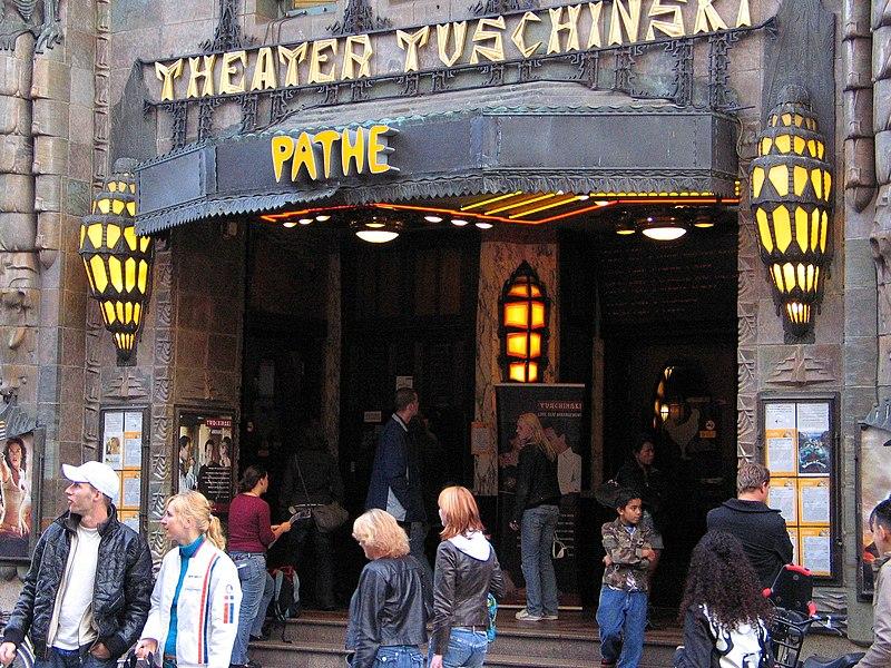 Pathé Tuschinski в Амстердаме был признан самым красивым кинотеатром в мире