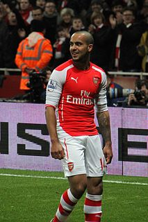 Theo Walcott English association football player