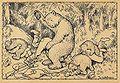 Theodor Kittelsen-En uheldig bjørnejakt.jpg