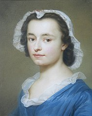 Portrait of the artist's sister, Juliane Charlotte Mengs