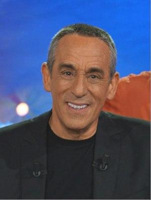 Thierry Ardisson - Thierry Ardisson on the set of Salut les Terriens ! February 20, 2014 (Plaine Saint-Denis)