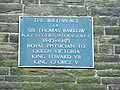 Thomas Barlow birth place.jpg