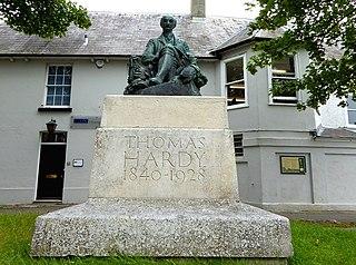 Statue of Thomas Hardy