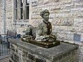 Thoresby Park Courtyard - Statue with a Scarf ^ - geograph.org.uk - 744401.jpg