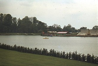 Thorpe Park - Image: Thorpe Park Lake in early days geograph.org.uk 771796