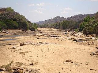 Thuli River river in Zimbabwe