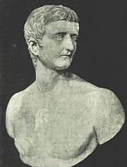 Bust of Tiverius, looking left