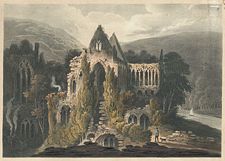 Tintern Abbey, South East View.