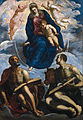 Tintoretto - Mary with the Child, Venerated by St. Marc and St. Luke - Google Art Project.jpg
