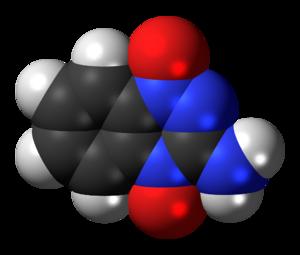 Tirapazamine - Image: Tirapazamine 3D spacefill