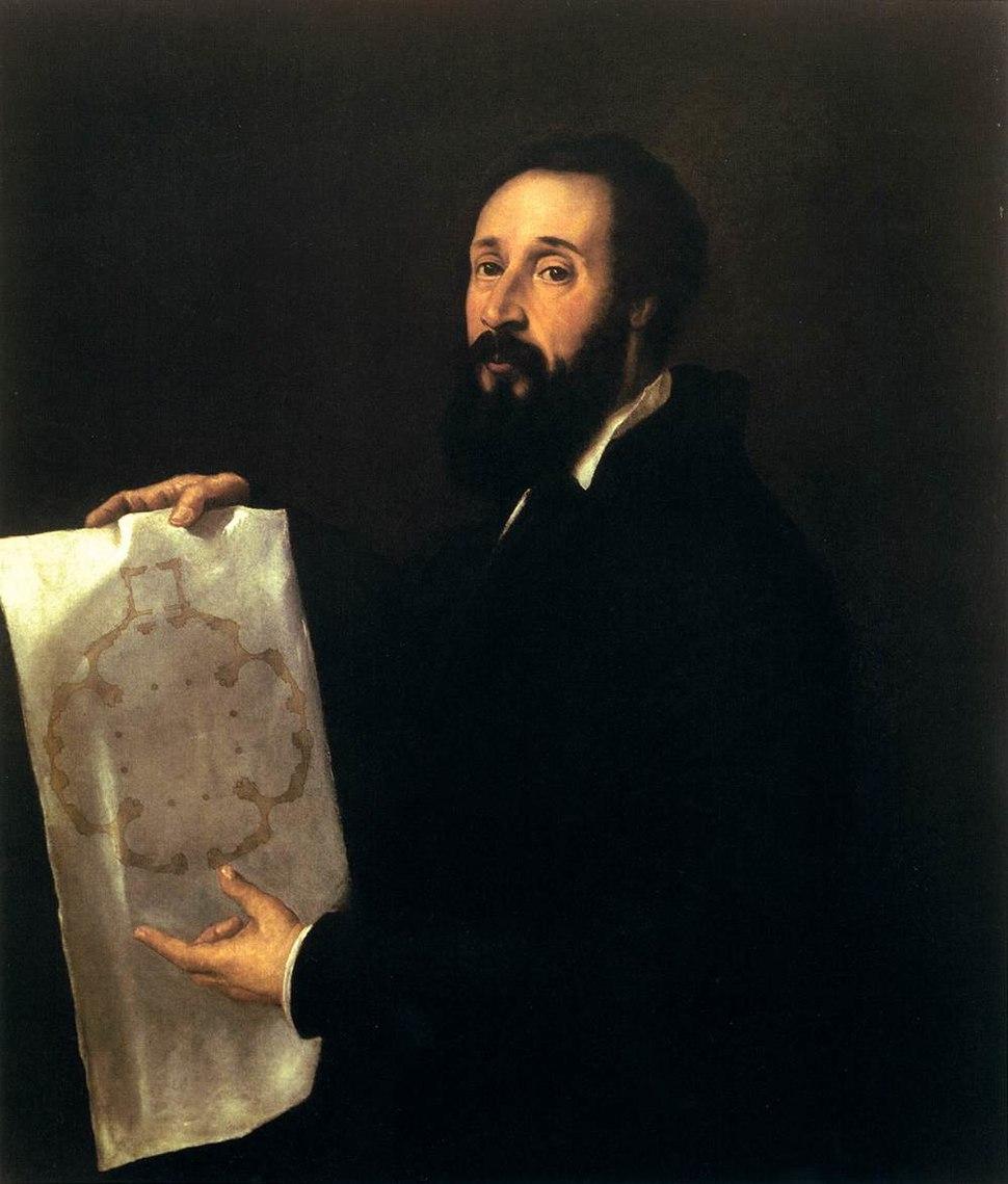 Titian - Portrait of Giulio Romano - WGA22947