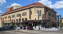 The Tivoli Theatre, a renovated landmark on 14th Street NW, is a symbol of Columbia Heights