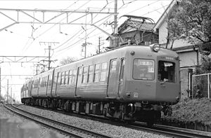 Tōkyū Tōyoko Line - Toyoko Line train in 1980