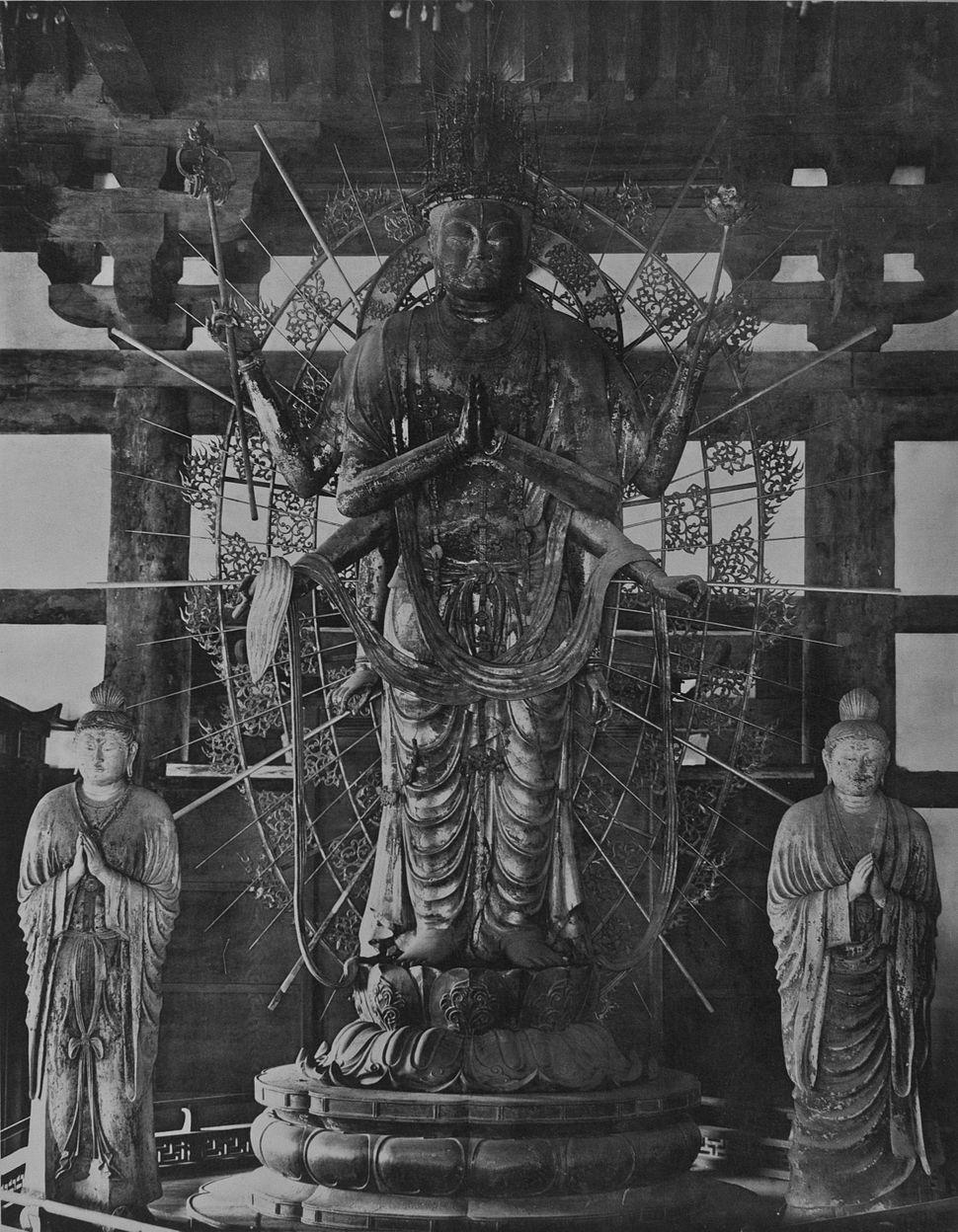 Todaiji Monaster Fukukensaku Kwannon of Hokkedo (232)