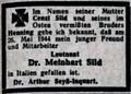 Todesanzeige Meinhart Sild 1944.png