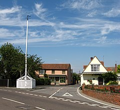 Tolleshunt D'Arcy maypole, from east.jpg