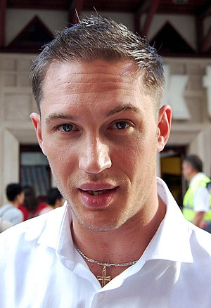 English: Tom Hardy at the premiere of Inceptio...