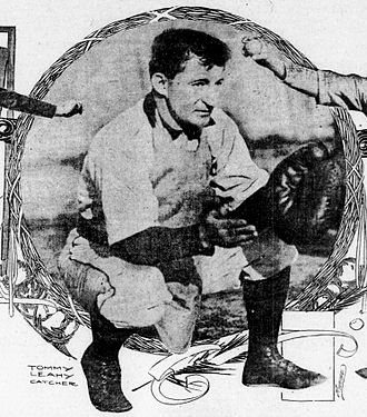 Tom Leahy (baseball) - Image: Tom Leahy 1904