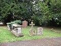 Tombs in St James' churchyard, Greete.jpg