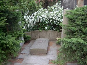 Otto Nuschke - Grave of Otto Nuschke