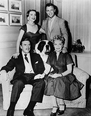 Lee Patrick (actress) - Cast of Topper Standing-Anne Jeffreys, Robert Sterling. Seated-Leo G. Carroll, Buck (the dog who played Neil), Lee Patrick