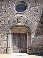 Touches (Mercurey, Saône-et-Loire, Fr) portail église.JPG