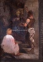 Toulouse-Lautrec - ESQUISSE, SCENE MEROVINGIENNE, 1883, MTL.106.jpg