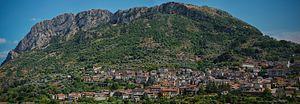 Bivongi - Image: Town of Bivongi