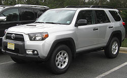 Toyota 4Runner Trail Edition (US)