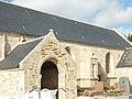 Tréguennec 02 Eglise paroissiale Notre-Dame de Pitié Porche et bas-côté sud.JPG