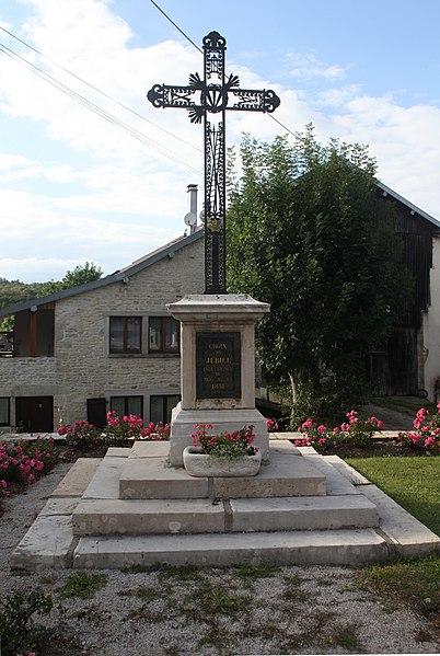 Croix à Trépot (Doubs).