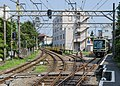 Track of Enoshima Electric Railway west of Enoshima Station 130809 7.jpg