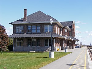 Stratford railway station (Ontario) - Current buildings, constructed by the GTR in 1913
