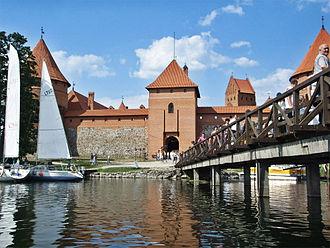 Trakai - Bridge and Castle of Trakai