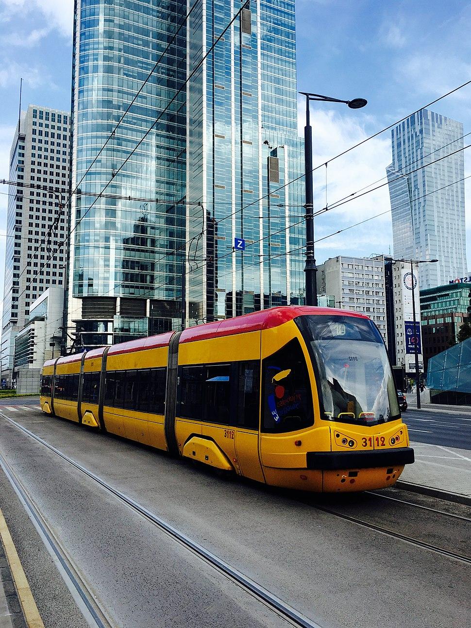 Tram in Warsaw