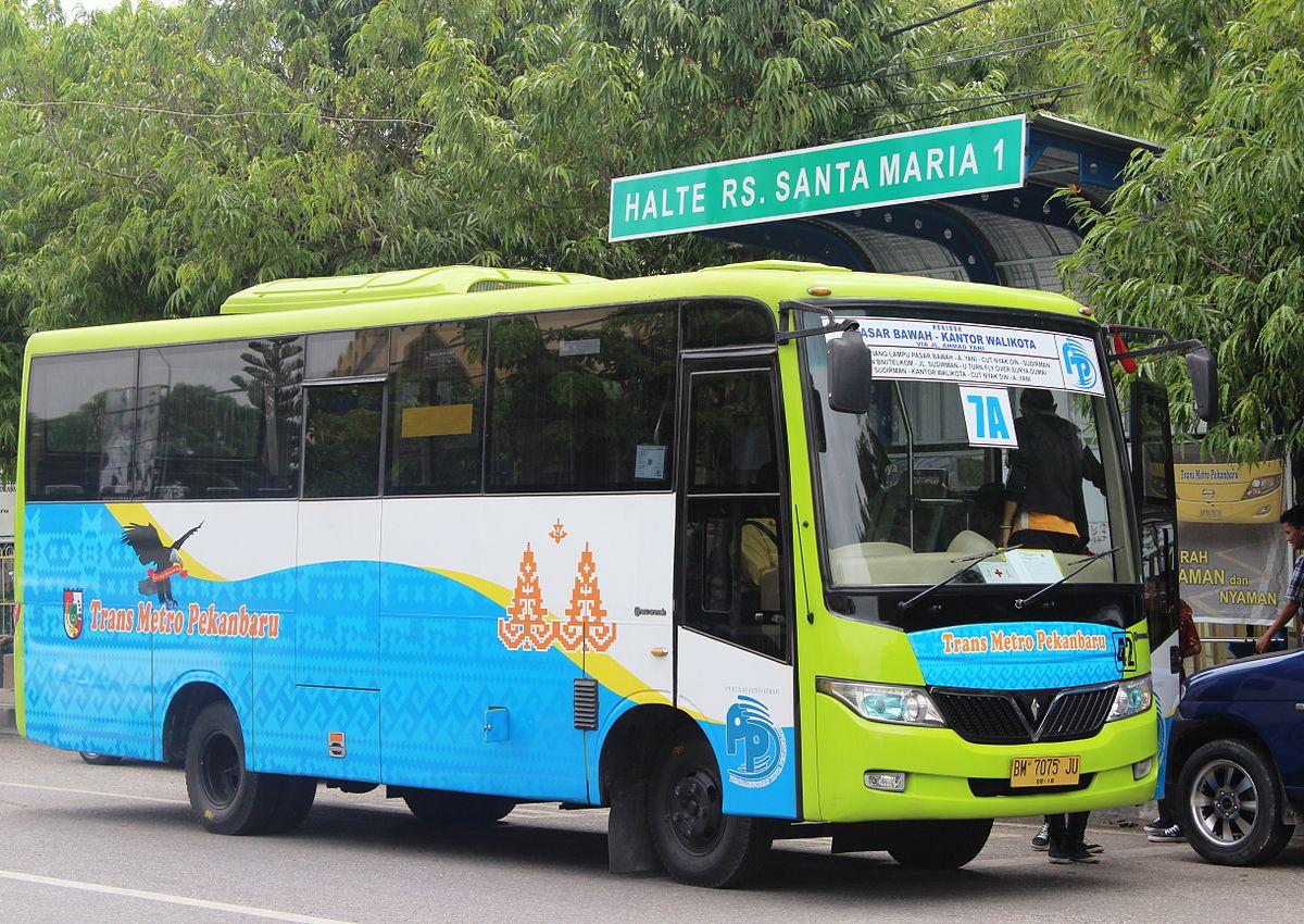 Trans Metro Pekanbaru - Wikipedia bahasa Indonesia