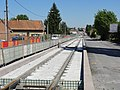 Travaux de la branche vers Vieux-Condé de la ligne B du tramway de Valenciennes en mai 2012 (078).JPG
