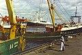 Trawlers and Britannia, Aberdeen Harbour. - geograph.org.uk - 117665.jpg